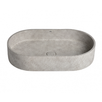 Cuba Oval Light Concrete