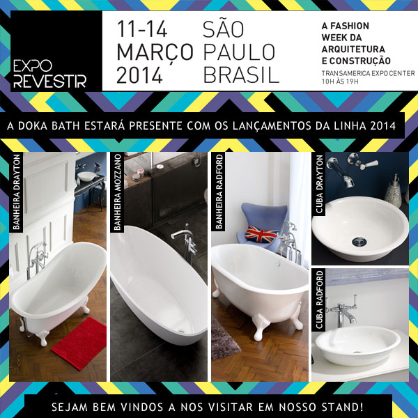 Doka Bath - Works na Expo Revestir 2014